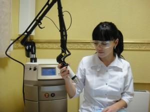 Фракционное лазерное омоложение в кемерово, купероз, лечение сосудов